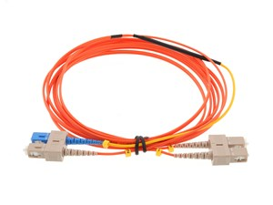 Picture of 1M Mode Conditioning Duplex Fiber Optic Patch Cable (62.5/125) - SC to SC