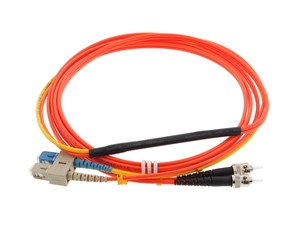 Picture of 1M Mode Conditioning Duplex Fiber Optic Patch Cable (62.5/125) - SC (equip.) to ST