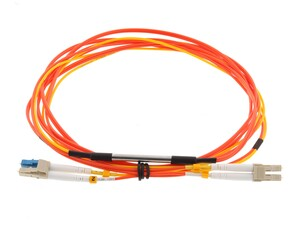 Picture of 1M Mode Conditioning Duplex Fiber Optic Patch Cable (50/125) - LC (equip.) to LC