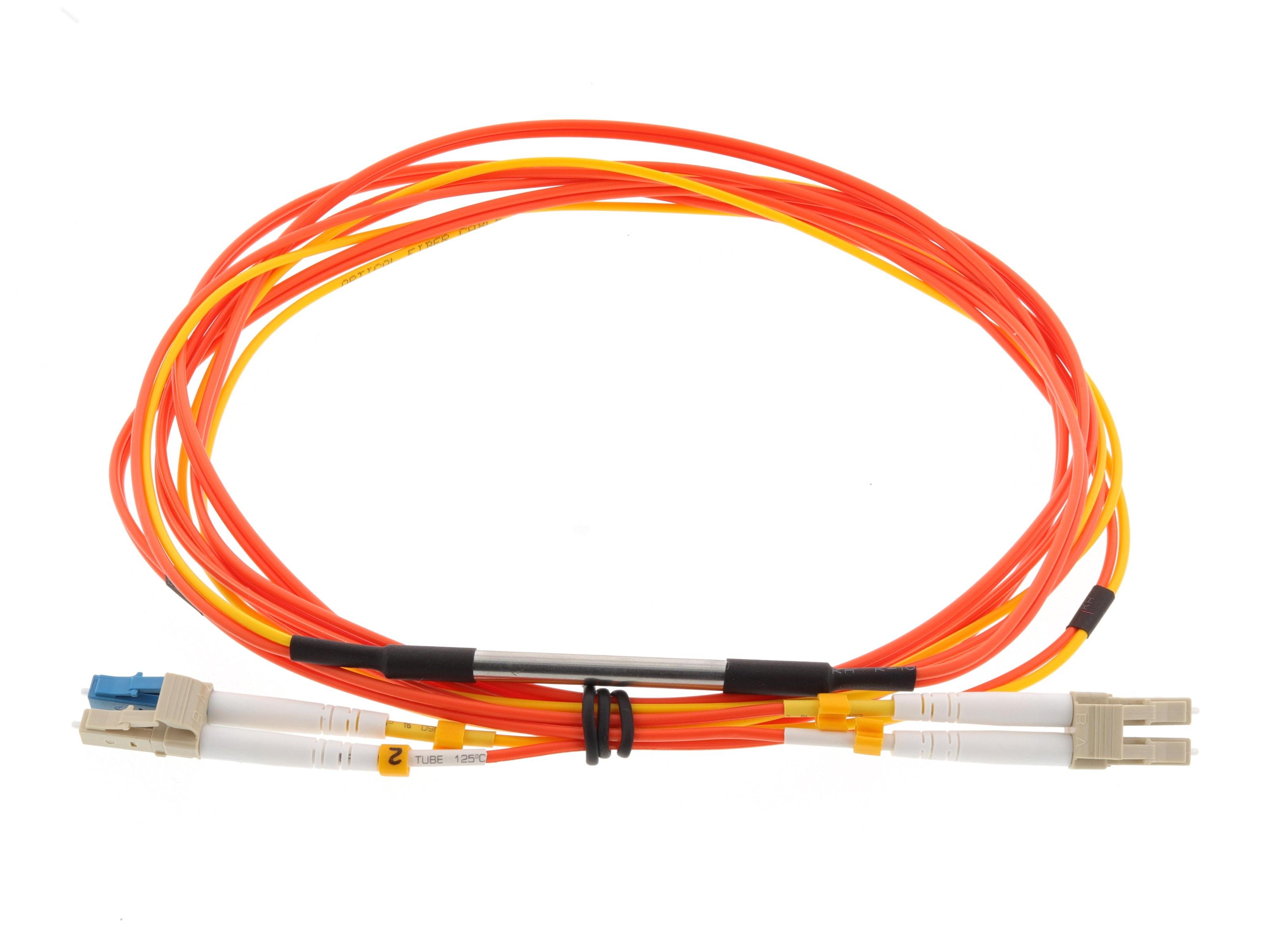 5m Mode Conditioning Duplex Fiber Optic Patch Cable 50