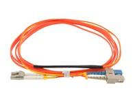 Picture of 1M Mode Conditioning Duplex Fiber Optic Patch Cable (50/125) - SC (equip.) to LC