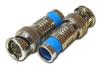 Picture of Compression BNC Connectors, RG6, Male, Single Piece