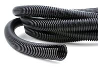 Picture of 1 Inch Black Flexible Split Loom - 10 Foot