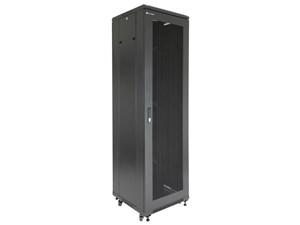 "Picture of Server Enclosure 42U 23""W x 23""D x 80""H, Vented Front Door, Removable Side Panels, Split Vented Rear Doors, Knockdown"