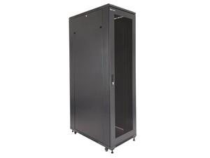 "Picture of Server Enclosure 42U 23""W x 39""D x 80""H, Vented Front Door, Removable Side Panels, Split Vented Rear Doors, Knockdown"