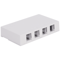 Picture of Surface Mount Box 4-port White