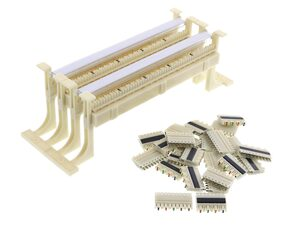 Picture of 110 Wiring Block, 100 Pairs, with Legs and Accessories