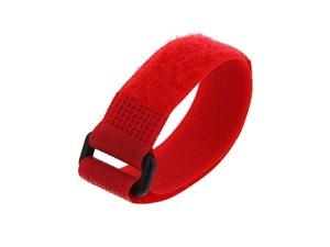 Picture of 8 Inch Red Cinch Strap - 5 Pack