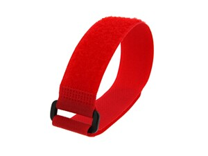 Picture of 12 x 1 Inch Red Cinch Strap - 5 Pack