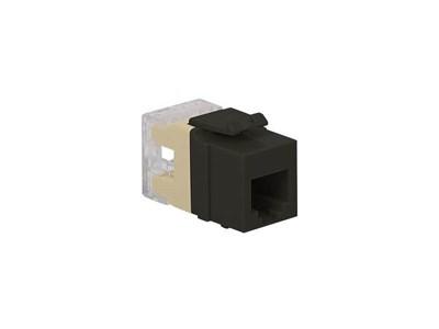Picture of Modular Keystone Jack - RJ11 (6P6C) HD - Black