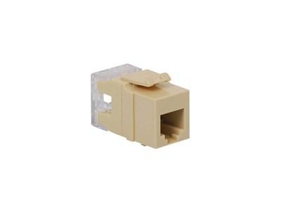 Picture of Modular Keystone Jack - RJ11 (6P6C) HD - Ivory