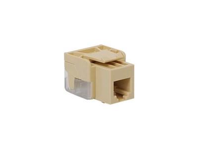 Picture of Modular Keystone Jack - RJ11 (6P6C) EZ - Ivory