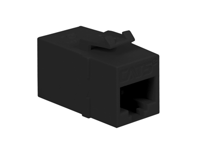 Picture of Module Coupler Cat 5e Black