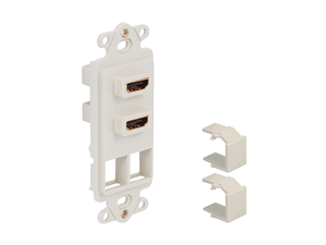 Picture of Insert, Decorex, 2 Hdmi And 2 Blank Ports