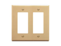 Picture of Faceplate Decorex 2-gang Ivory