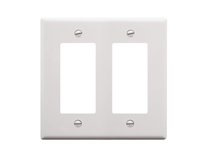 Picture of Faceplate Decorex 2-gang White