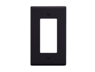Picture of Faceplate Decorex 1-gang Black