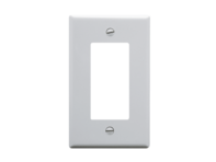 Picture of Glossy Decorator Style Face Plate - Single Gang - White