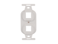 Picture of Insert Electrical 2-port White