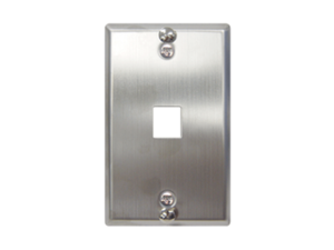 Picture of Wall Plate Phone Flush 1-port Ss