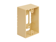 Picture of Mounting Box 1-gang Ivory