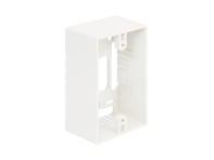 Picture of Mounting Box 1-gang White