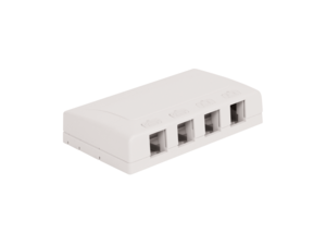 Picture of Surface Mount Box Elite 4-port White