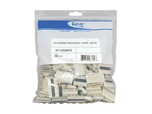 Picture of 110 CONNECTING BLOCK, 5-PAIR, 100 PK