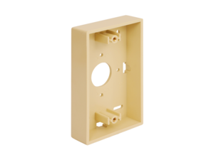 Picture of Mounting Box Low-profile 1-gang Ivory
