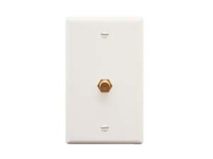 Picture of Wall Plate F-type White