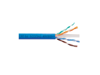 Picture of Solid CAT6e UTP 350 MHz Plenum Cable - Blue - 1000 FT