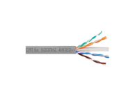 Picture of Solid CAT6e UTP 350 MHz Plenum Cable - Gray - 1000 FT
