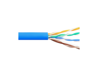 Picture of Solid CAT5e UTP 350 MHz Riser Cable - Blue - 1000 FT