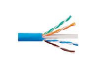 Picture of Solid CAT6e UTP 600 MHz Riser Cable - Blue - 1000 FT