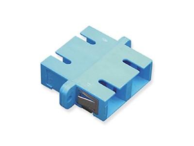 Picture of Sc Fiber Optic Adapter Duplex Metal