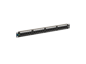 Picture of Cat 5e Patch Panel 24-port 1rms