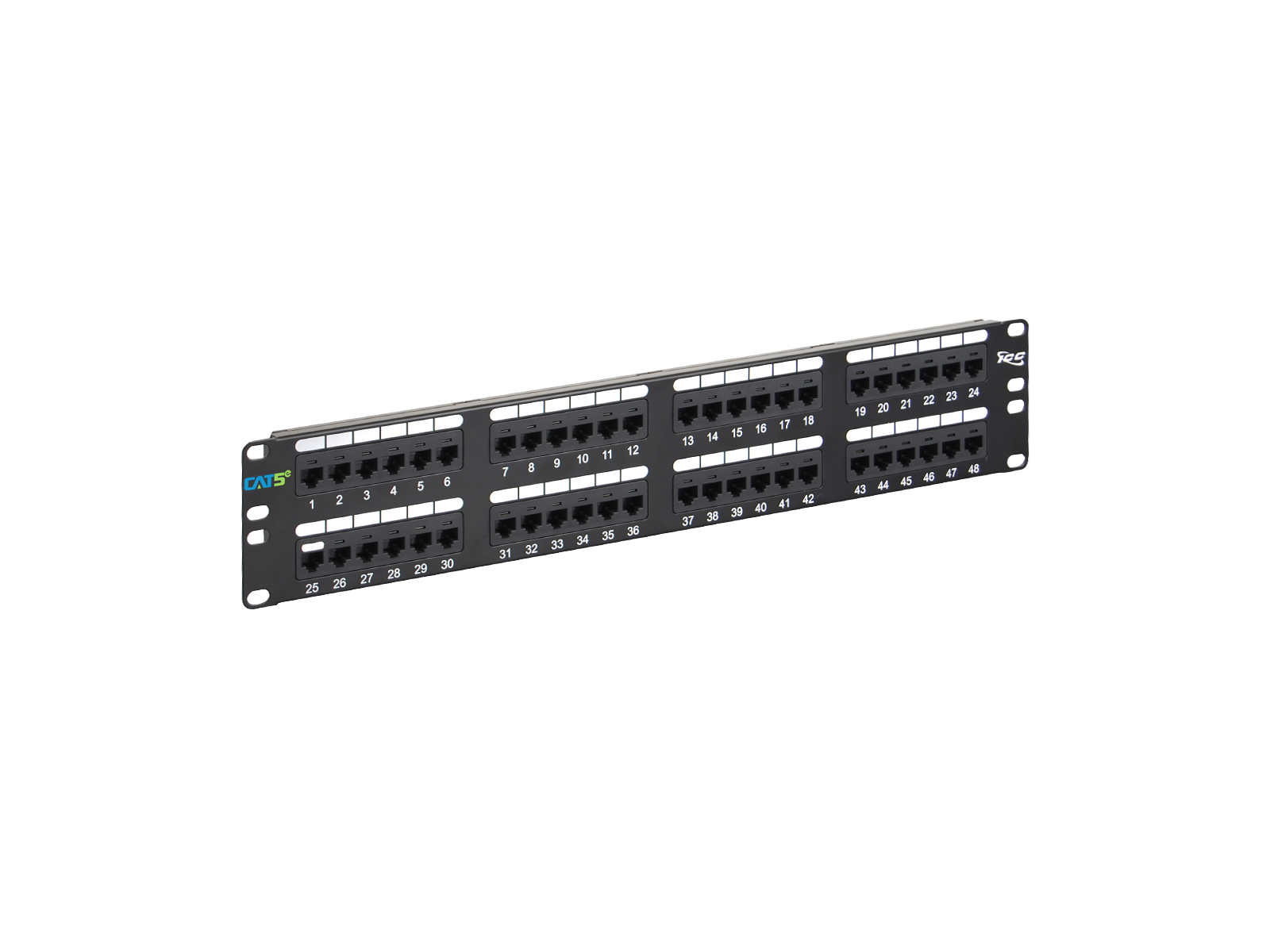 Cat5e Rack Wiring Diagram Library Server Picture Of Cat 5e Patch Panel 48 Port 2 Rms