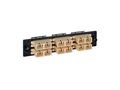 Picture of Sc Fiber Optic Adapter Panel 6-duplex Metal