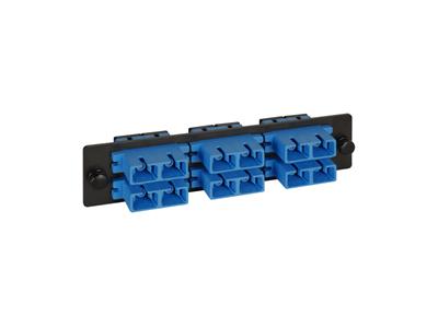 Picture of Sc Fiber Optic Adapter Panel 6-duplex Ceramic