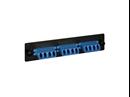 Picture of Lc Fiber Optic Adapter Panel 6-duplex Ceramic