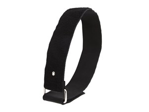 Picture of 24 x 2 Inch Heavy Duty Black Cinch Strap with Eyelet - 5 Pack