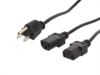 "Picture of 6 FT Splitter Power Cord C13 ""Y"" - Standard System"