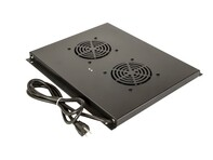 "Picture of Dual Fan Cooling Tray for Networx® 23"" Deep Server Enclosure"