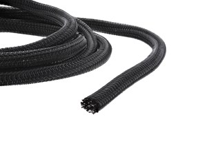 """Picture of 1/4"""" Self-Closing Braided Wrap 10FT - Black"""