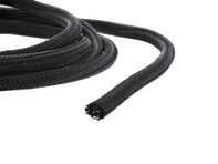 "Picture of 1/4"" Self-Closing Braided Wrap 25 FT - Black"