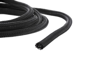 "Picture of 1/4"" Self-Closing Braided Wrap 100 FT - Black"