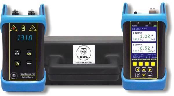 Fiber Owl 7 Tier 2 Singlemode Certification Test Kit