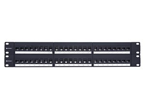 Picture of CAT5e High-Density Feed Through Patch Panel - 48 Port, 2U