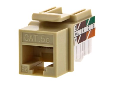 Picture for category Cat5e Keystone Jacks