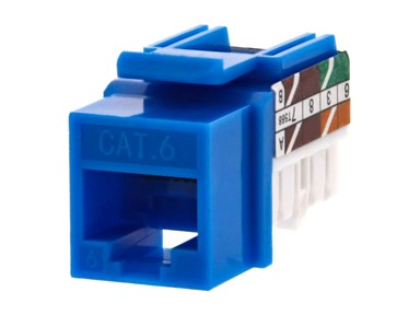 Picture for category Cat6 Keystone Jacks